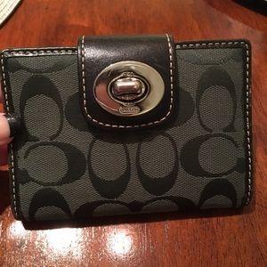 Women's Coach medium size wallet.